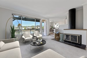 Home for sale Sunny Contemporary Condo - Views of the Water