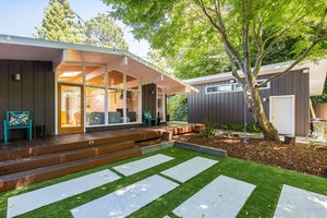 Home for sale Hip Mid-Century Modern Home in Mill Valley