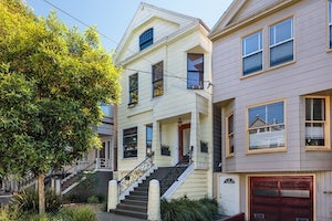 Home for sale Delightful Victorian Home in Cole Valley